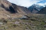 Вид на горы близ села Зардалы Баткенской области. Архивное фото