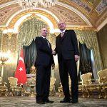 Россия менен Түркиянын президенттери Владимир Путин менен Режеп Тайип Эрдоган Кремлде жолукту