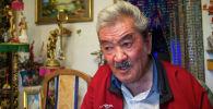 Кыргыз Республикасынын эл артисти жана обончу Калыйбек Тагаев. Архив