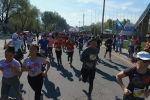 На трассе Бишкек — аэропорт Манас провели полумарафон Бакай Банк Жаз Деми. В нем приняли участие 1 500 человек.