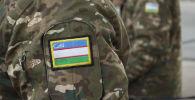 Шеврон военной формы Узбекистана. Архивное фото