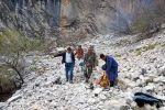 Жалал-Абад облусуна караштуу Ноокен районундагы Тоскоол айылынын Алаш тоосунда жардан кулап кеткен 41 жаштагы киши табылды