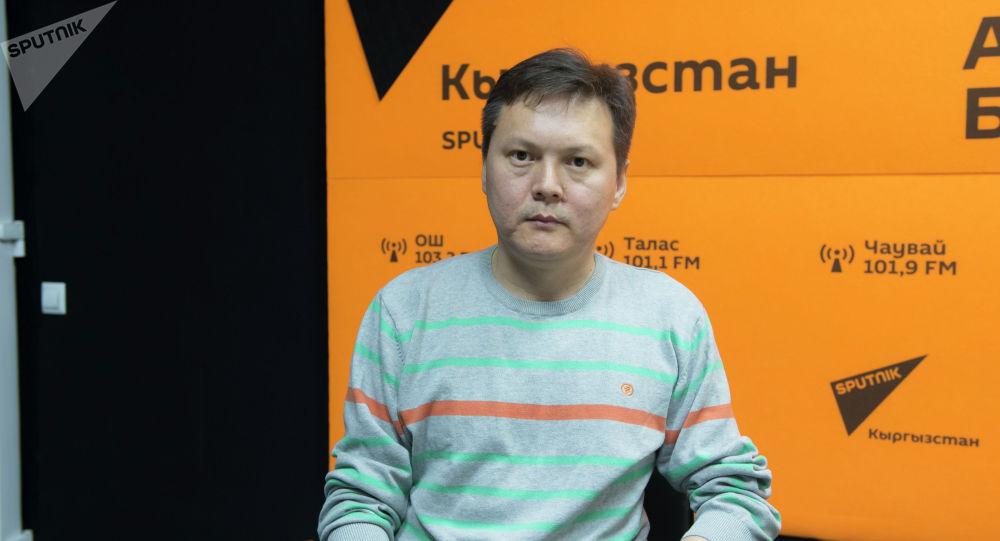 Гемофилия менен ооругандар жана майыптар коомунун башчысынын орун басары Мирлан Кудайназаров