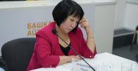 Саламаттык сактоо министрлигинин медициналык жана фармацевттик кызмат көрсөтүү бөлүмүнүн башчысы Бурул Арзыкулова