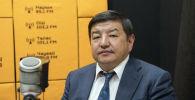 Бир Бол фракциясынын депутаты, экономика илимдеринин доктору Акылбек Жапаров. Архив