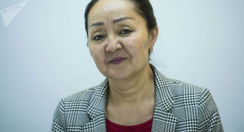 Глава управления профессионального образования Минобразования Гульмира Абылкасымова