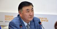 Директор Национального центра охраны материнства и детства Министерства здравоохранения Камчыбек Узакбаев. Архивное фото