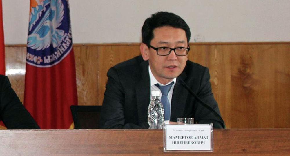 Архивное фото главы ГРС Алмаза Мамбетова
