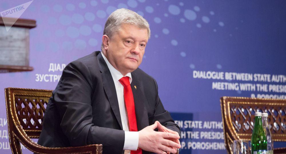 Украинанын азыркы президенти Петр Порошенко