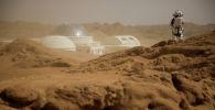 Марсианская деревня в китайской провинции Цинхай. База, имитирующая условия на Марсе. Архивное фото