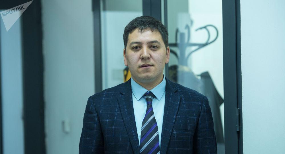 Мамлекеттик патенттик-техникалык китепкананын директорунун орун басары Жоодар Жумабаев