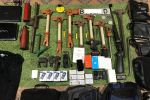 Вещи изъятые у подозреваемых во взломах банкоматов в Бишкеке