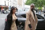 Звезда американских реалити-шоу Ким Кардашьян и американский рэп-певец Канье Уэст. Архивное фото