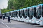 Автобусы в Бишкеке. Архивное фото