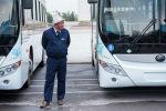 Новые автобусы в Бишкеке. Архивное фото