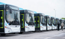 Автобусы работающие на газе. Архивное фото