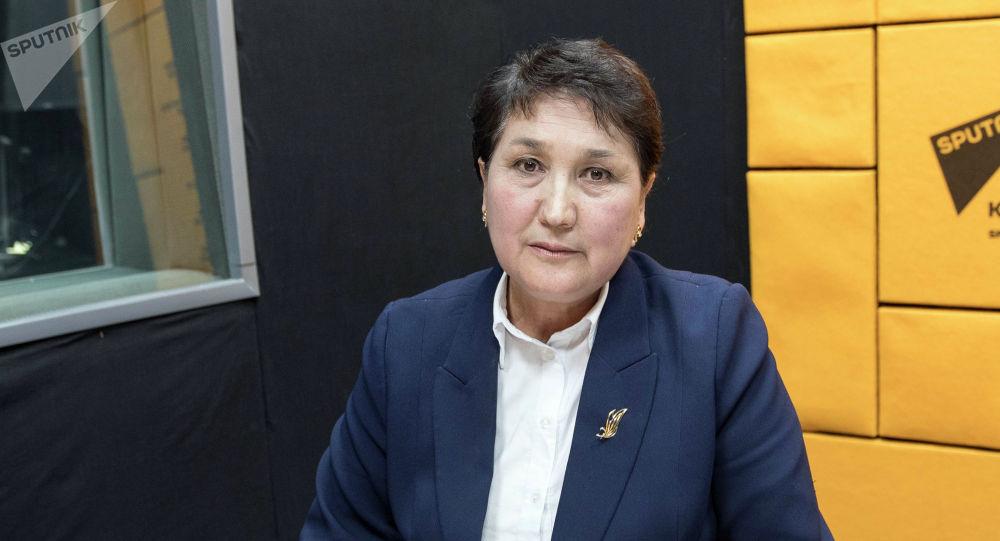 Глава ОАО Государственная страховая организация Жумагуль Эгембердиева
