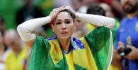 Волейбол боюнча олимпиаданын эки жолку чемпиону Жаклин Карвальо. Архив