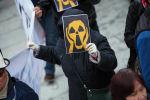 Участники митинга против добычи урана в Иссык-Кульской области. Архивное фото