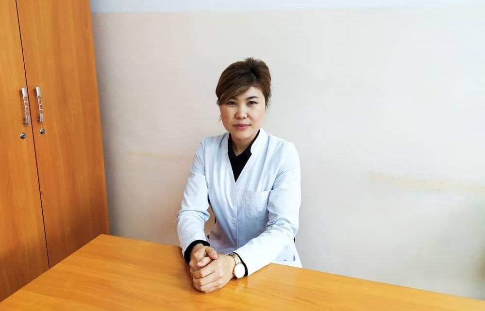 Ревматолог отделения ревматологии Национального центра кардиологии и терапии Элмира Каримова