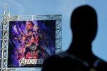 Плакат с анонсом фильма Мстители: Финал