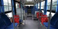 Салон автобуса. Архивное фото
