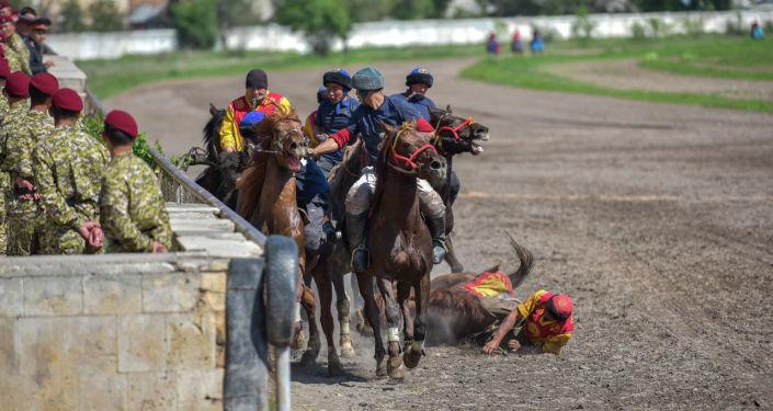 Турнир по кок бору, посвященный ко Дню города Бишкек