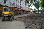 Городские службы начали благоустраивать участок возле пересечения проспектов Чуй и Манаса