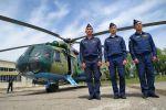 Министерство обороны России передало Генеральному штабу Вооруженных сил Кыргызстана два вертолета МИ-8МТ. Архивное фото