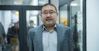 Директор Бишкекского пассажирского автотранспортного предприятия Нурлан Койчубаков. Архивное фото