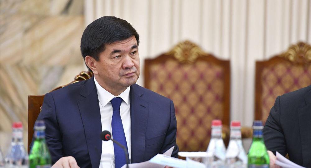 Премьер-министр Мухаммедкалый Абылгазиев. Архив