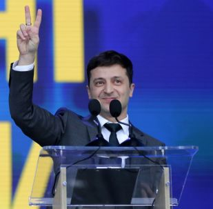 Архивное фото президента Украины Владимира Зеленского