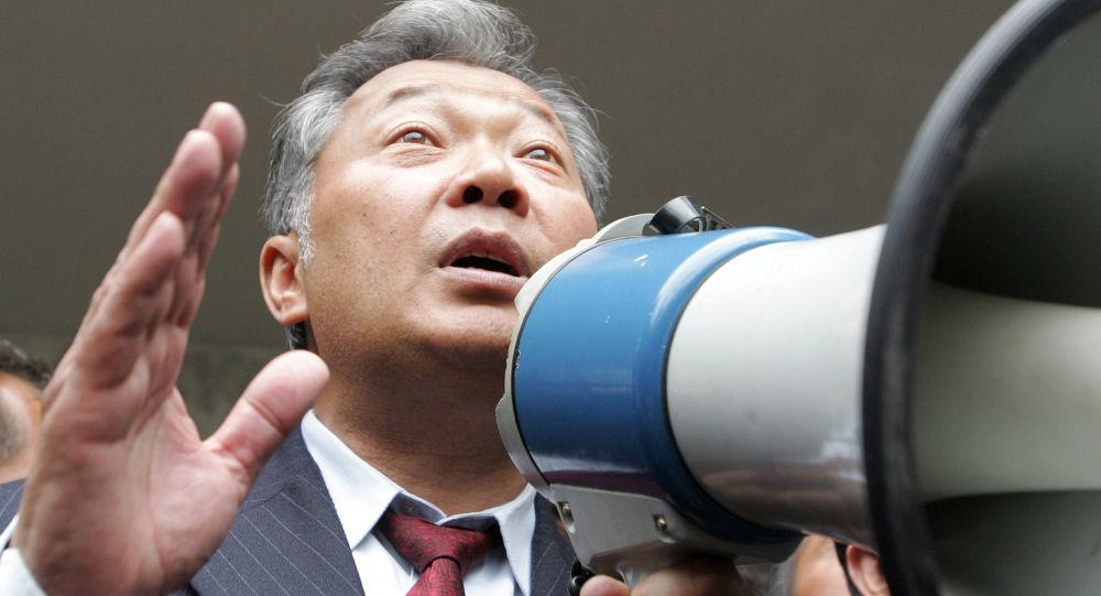 Бывший президент КР Курманбек Бакиев. Архивное фото