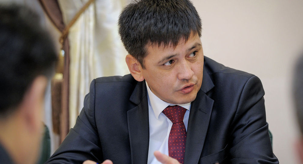Директор Государственного агентства архитектуры, строительства и жилищно-коммунального хозяйства при Правительстве Кыргызской Республики Бактыбек Абдиев. Архивное фото