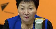 Директор Республиканского центра СПИД Умуткан Чокморова. Архивное фото