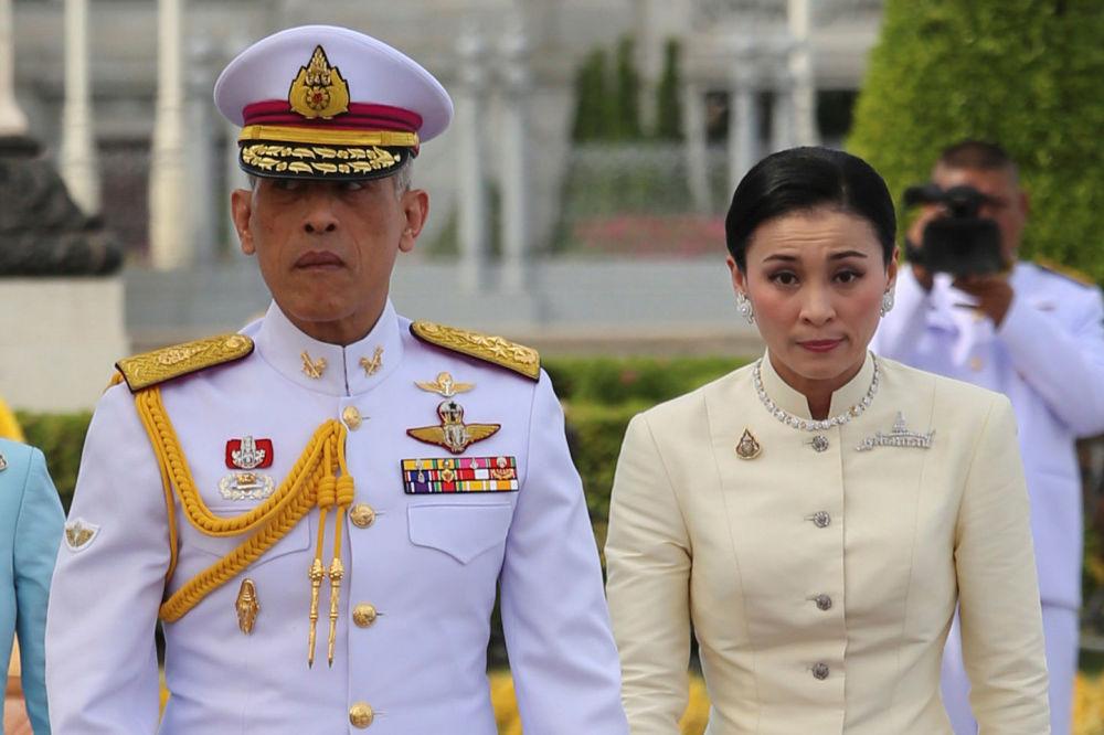 Король Таиланда Маха Ватчиралонгкон (Рама Х) женился в пятый раз 1 мая 2019 года