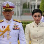 Маха Ватчиралонгкон 1-май күнү падышалык кароолдун генералына баш кошту
