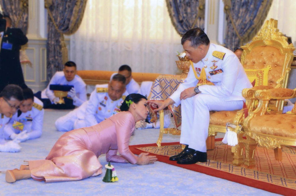 Его новой избранницей стала заместитель командующего личной гвардией монарха 40-летняя Суттхида Ватчиралонгкон На Аюттхайя