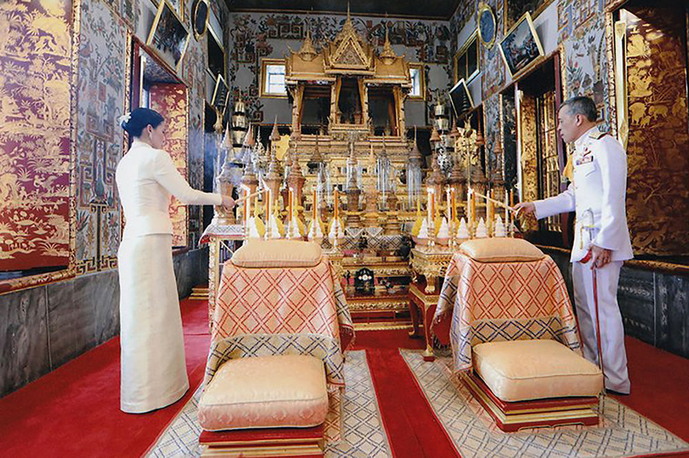 Ханышага таажы кийгизүү салтанаты 4-май күнү Бангкок шаарында өттү