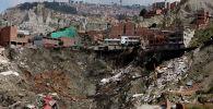 Последствия оползня в Ла-Пасе. Архивное фото