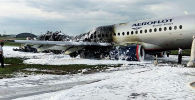 Пожар в самолете летевшего рейсом Москва — Мурманск