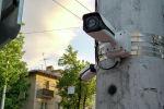 Камера проекта Безопасный город на улице Ахунбаева. Архивное фото