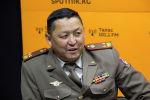 ӨКМдин оорук башкармалыгынын башчысы, подполковник Бактыбек Арзымаматов. Архив