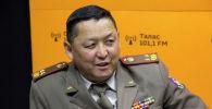ӨКМдин оорук башкармалыгынын башчысы, подполковник Бактыбек Арзымаматов