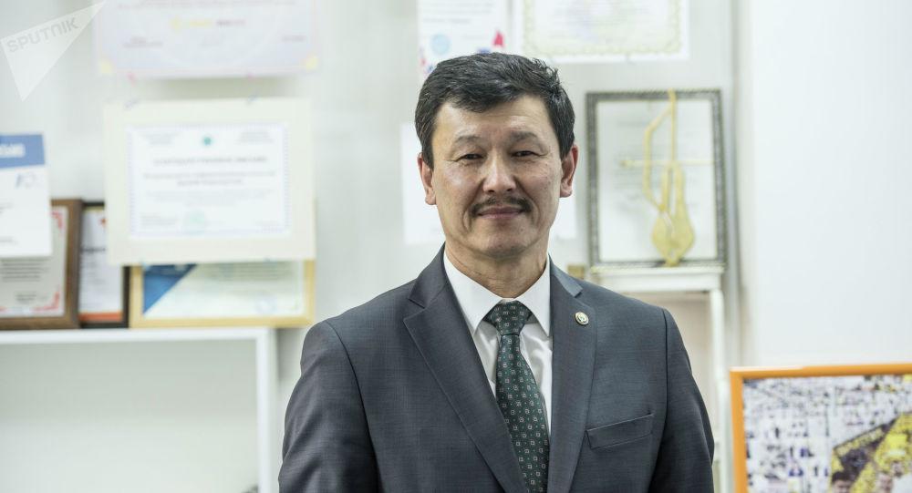 Советник премьер – министра КР по вопросам сельского хозяйства Азамат Мукашев. Архивное фото