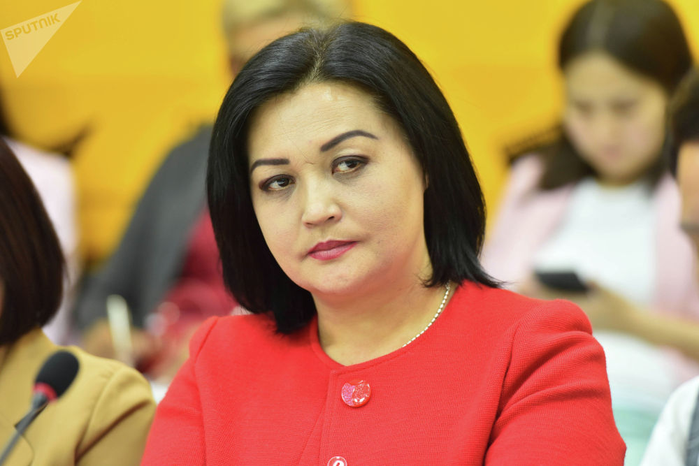 Координатор института Булан Назгуль Калмамбетова