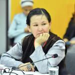 Глава общественного объединения Таза Табигат Анара Дауталиева