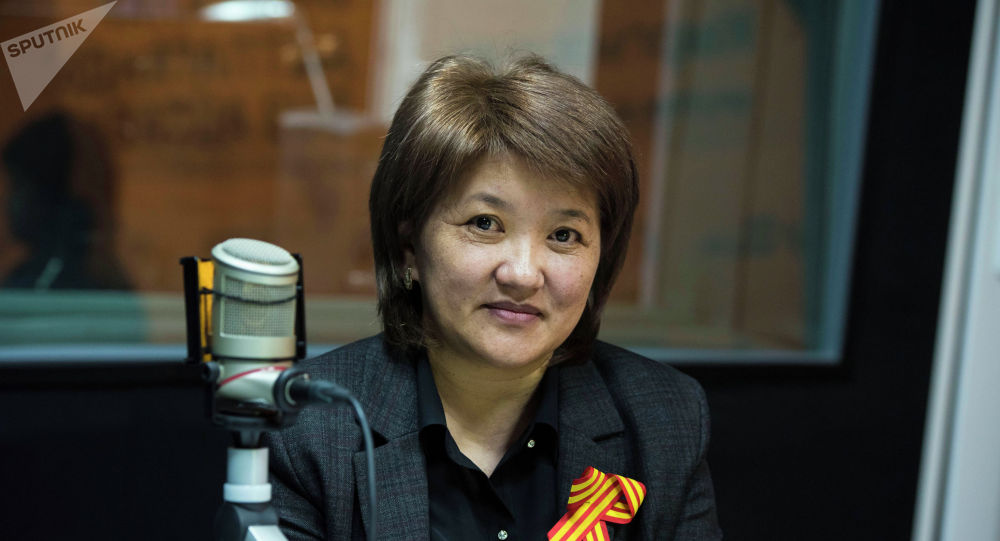 Кыргыз почтасы мамлекеттик ишканасынын каржы кызмат бөлүмүнүн менеджери Рахат Бекболотова