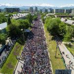 Бишкекте Өлбөс полк акциясы өттү
