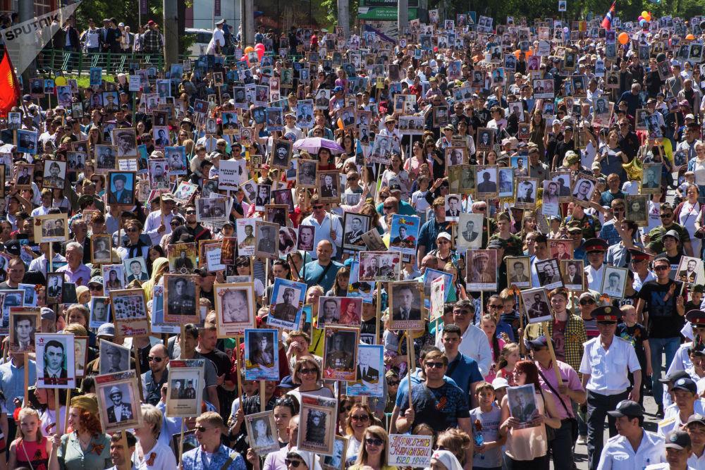 Бишкек ШИИБдин маалыматына ылайык, быйыл акцияга былтыркыга салыштырмалуу беш миңге көп — 50 миңден ашуун адам катышты